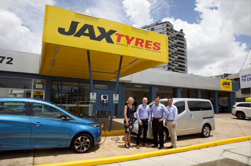 JAX Tyres get ready for EV fleets with charging station rollout