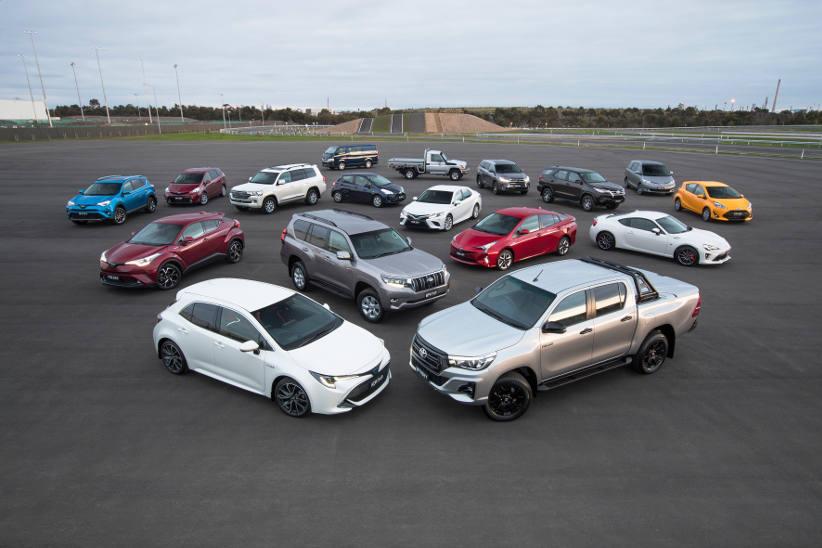 Toyota dominates new car sales again in 2018
