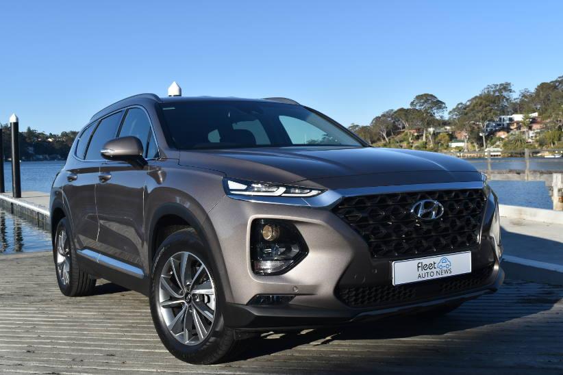 Hyundai Santa Fe wins award for Large SUV of the Year
