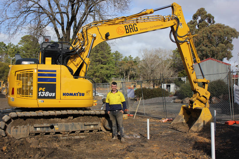 New business succeeds with help from Komatsu