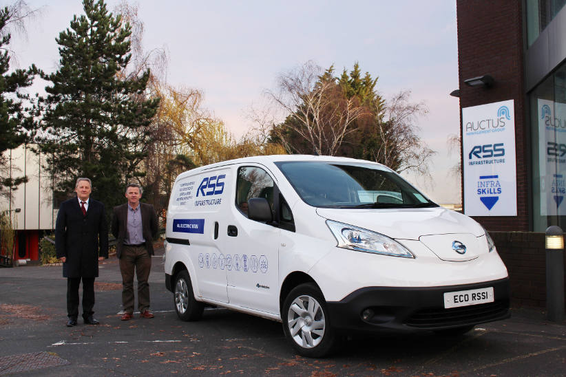 RSS Infrastructure buys its first EV