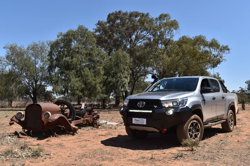 Toyota Hilux Rugged X – Toughest of the tough