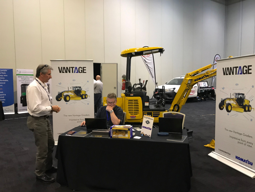 IPWEA Conference exhibitor highlights — Wex, 6Wheeler, ERoad, Komatsu
