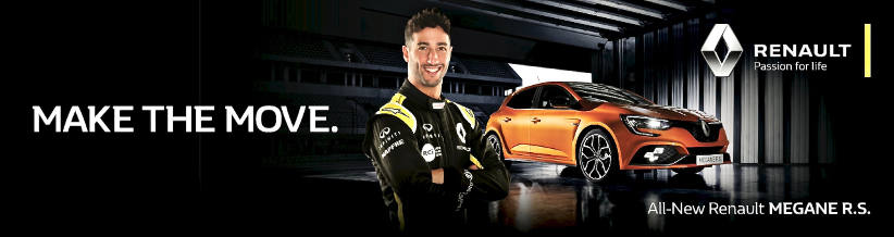 Move your fleet to Renault - Just like Daniel Ricciardo
