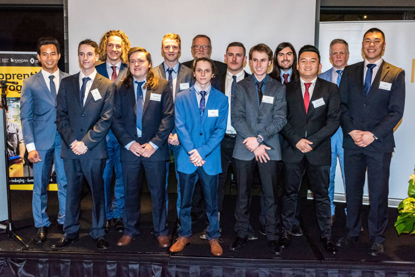 Renault recognises apprentices from Class of 2018