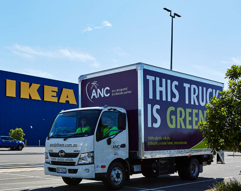 ANC introduces electric vehicles to home delivery market
