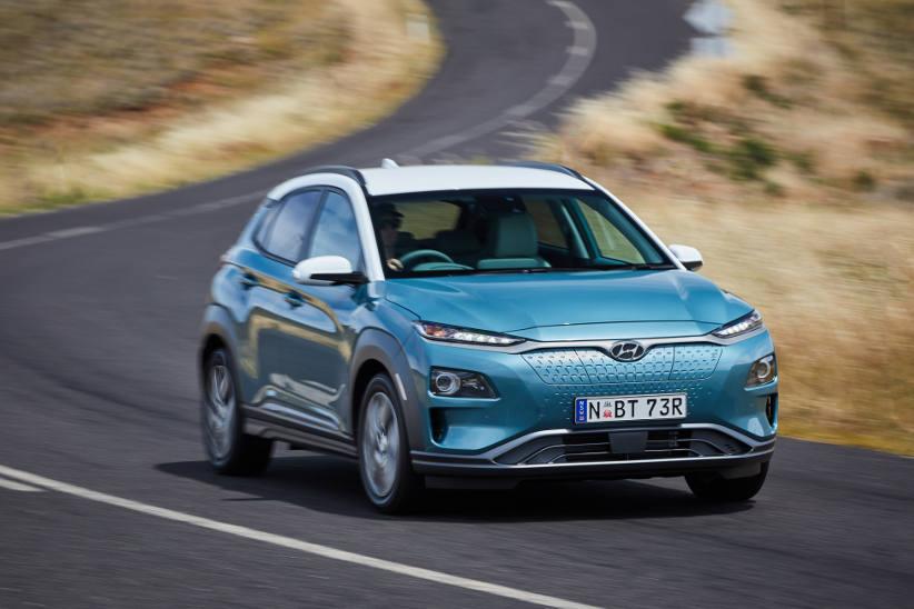 Hyundai Kona EV specifications