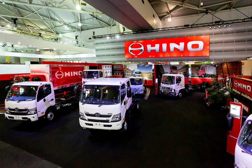 Safety, technology and innovation the focus for Hino at Brisbane Truck Show