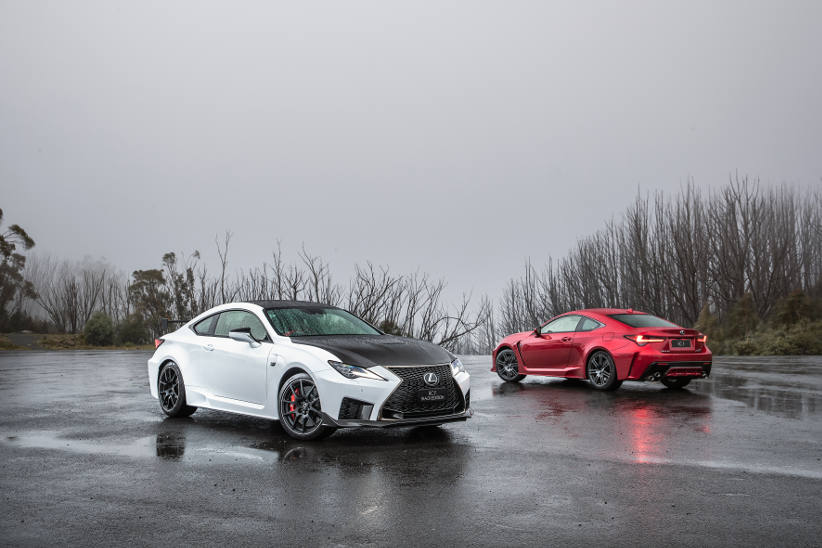 First deliveries of awesome Lexus RC F hit the showrooms