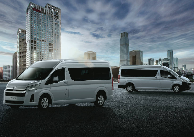 Toyota launches first new HiAce in 15 years