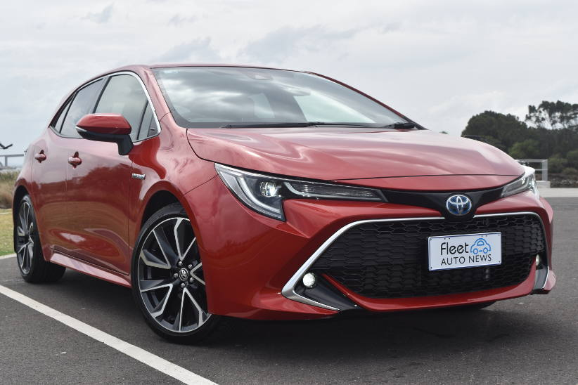 Toyota hybrid Corolla ZR Front 2