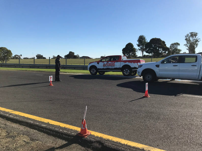 AfMA Safety Field Day - EV beauties and the dual cab beasts
