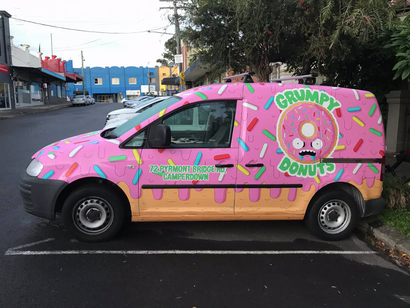 Fleet vehicle branding - good examples