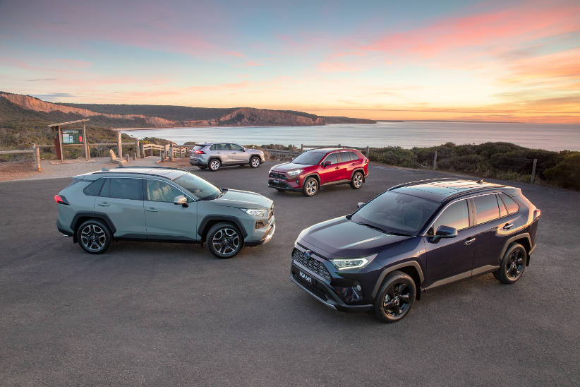 New Toyota RAV4 offers fleets more safety with 5 star ANCAP