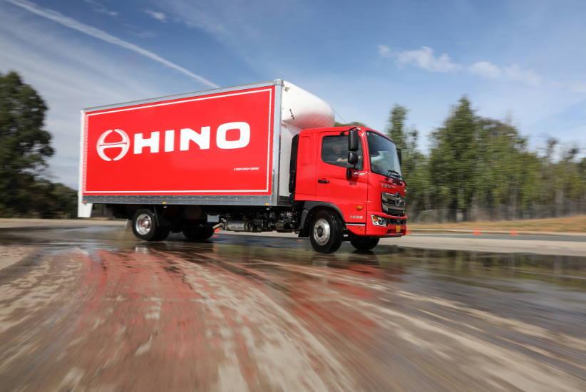 Hino shifting standards for medium duty trucks