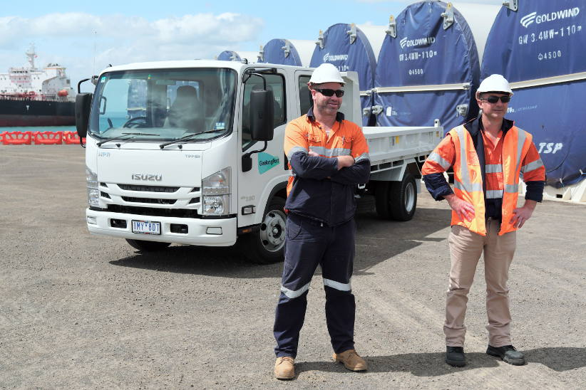 Ship to shore: Geelong Port and Isuzu making waves