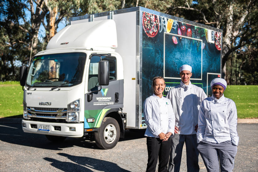 Wodonga Take brings the classroom to you with a food truck