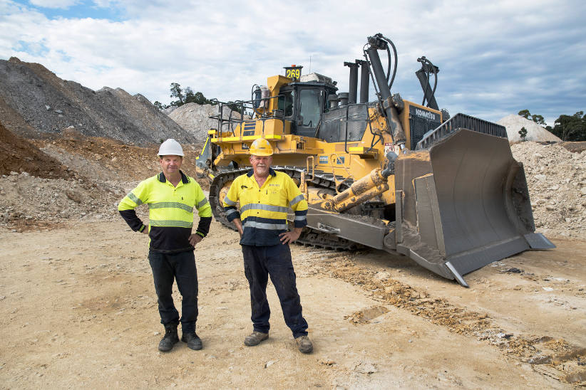 Bigger is more efficient for quarry operations