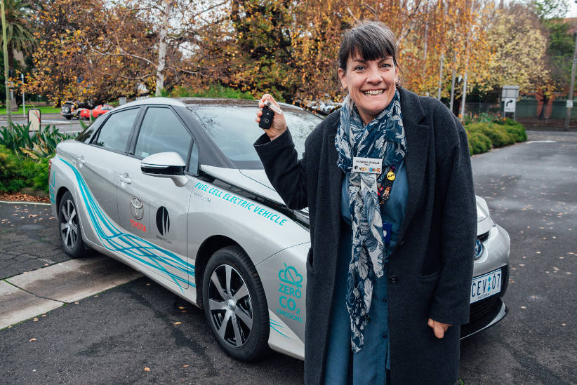 Moreland welcomes Toyota Mirai in hydrogen fuel cell trial