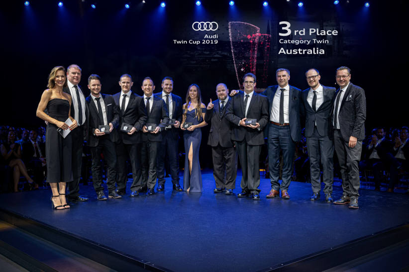Australian team shines in Audi global service competition