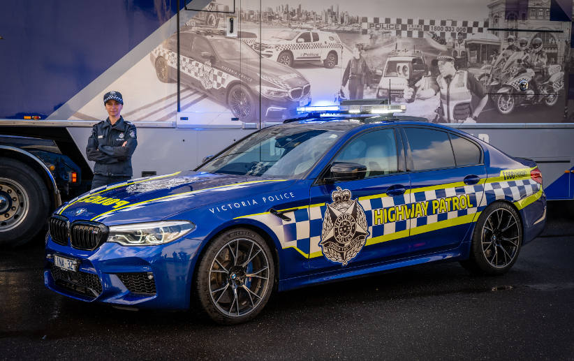 BMW M5 Competition joins Victorian Police fleet