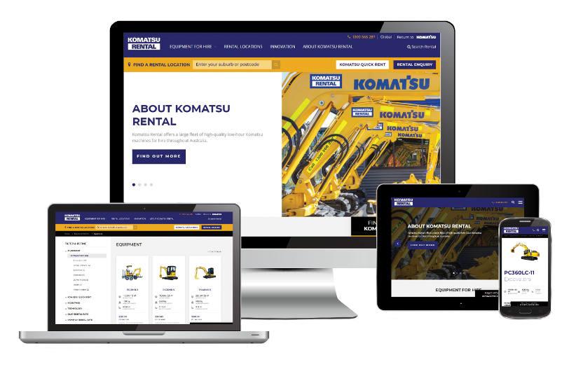 Komatsu launch new website to make hiring easier
