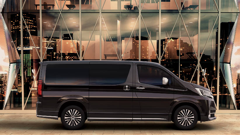 Toyota Granvia offers a stylish people mover for fleets