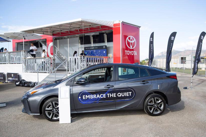 Toyota take hybrid cavalcade across Australia