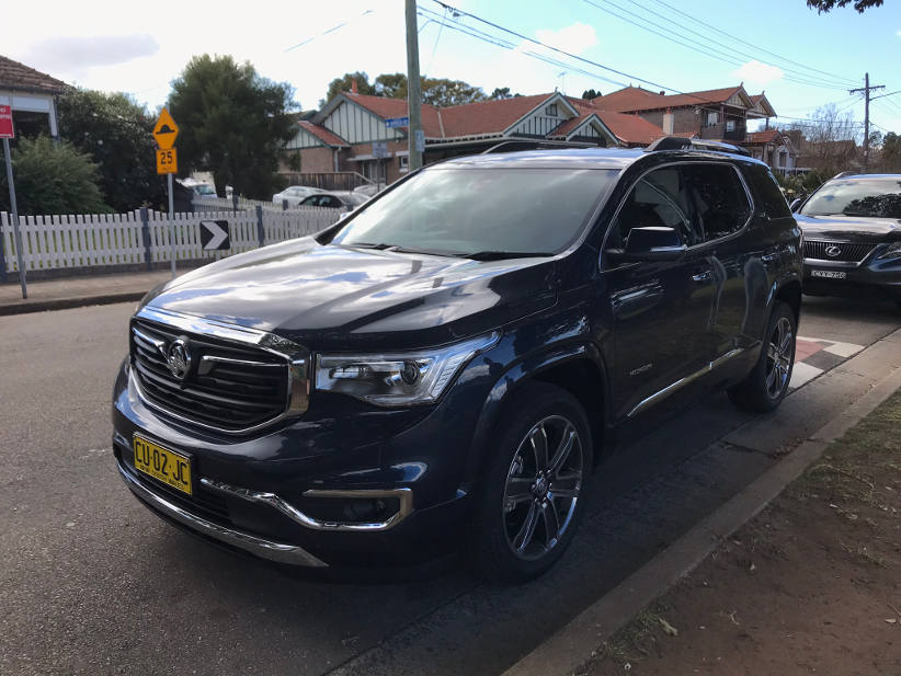 If space is luxury, then the Holden Acadia LTZ-V is a luxury SUV