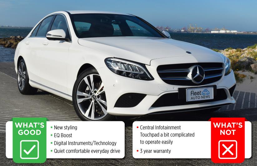 Mercedes-Benz C200 – Just as a Mercedes-Benz should be