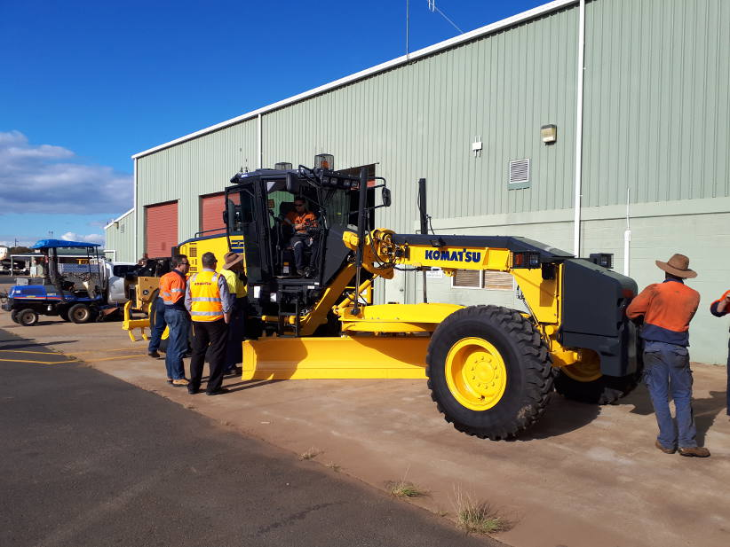 South Burnett Regional Council restores roads with Komatsu