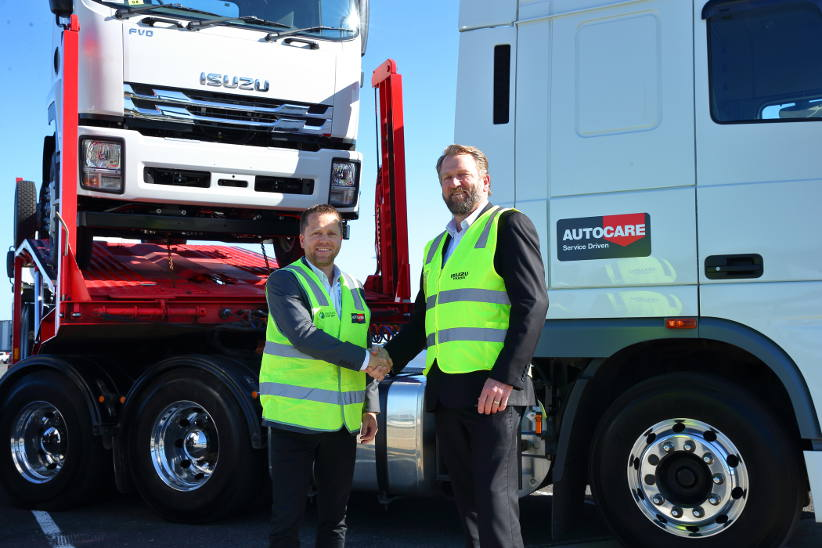 LINX unit Autocare Services signs new shore-to-door contract with Isuzu