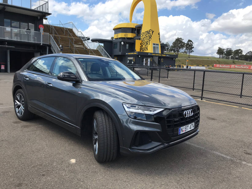 We finally spotted an Audi Q8 in the wild
