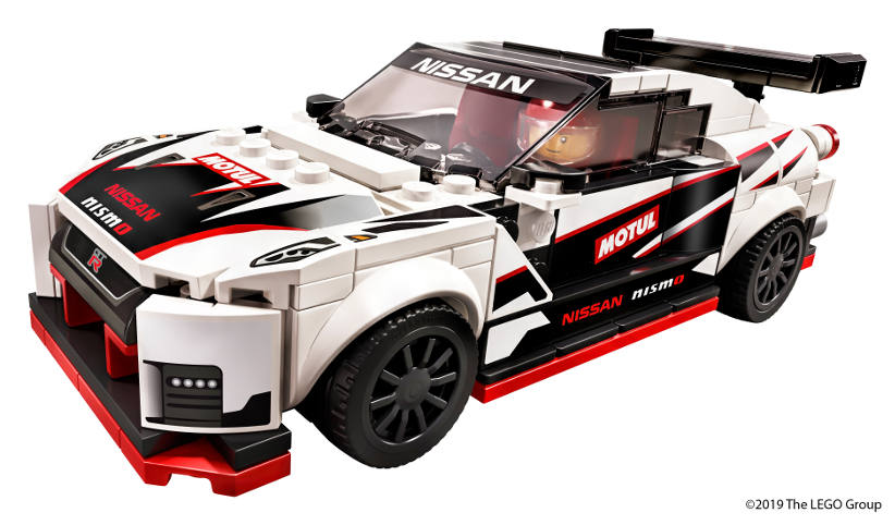 Nissan GT-R now available in LEGO
