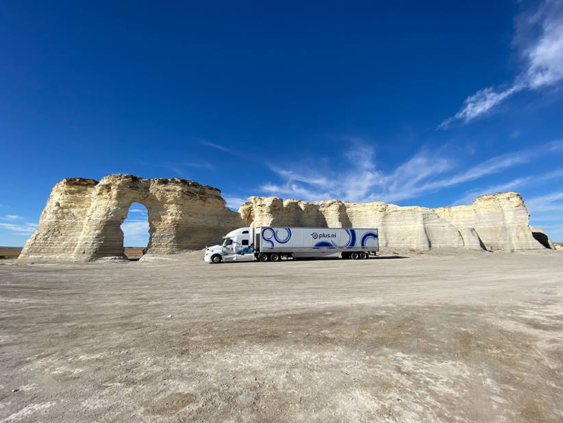 Autonomous truck completes USA's first commercial freight run across the country