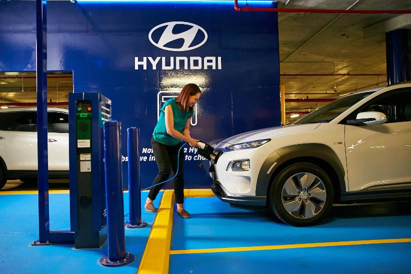 Hyundai installs charging stations at signature WA venue
