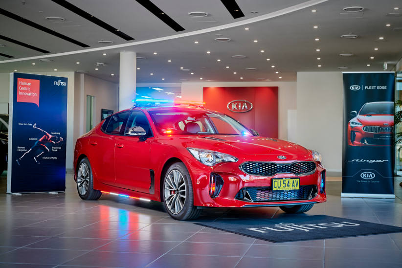 Force multiplier - Kia and Fujitsu make policing easier with technology