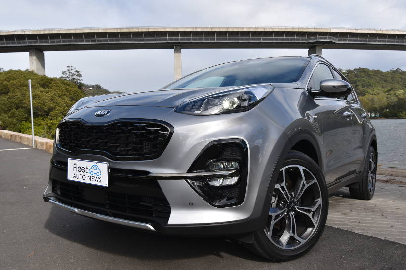 Kia Sportage GT-Line – five seats - nothing spared