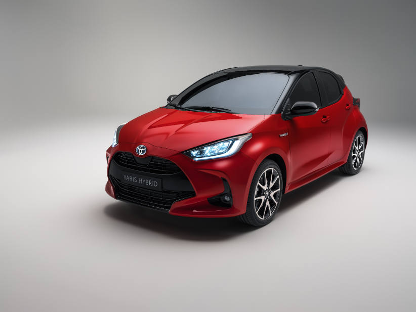 All new hybrid powered Toyota Yaris on sale in May