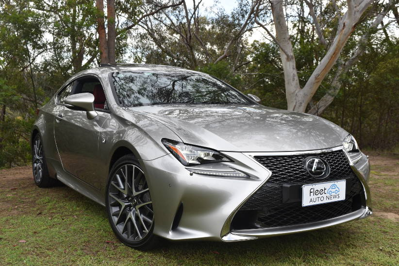 Novated review - Lexus RC350 F