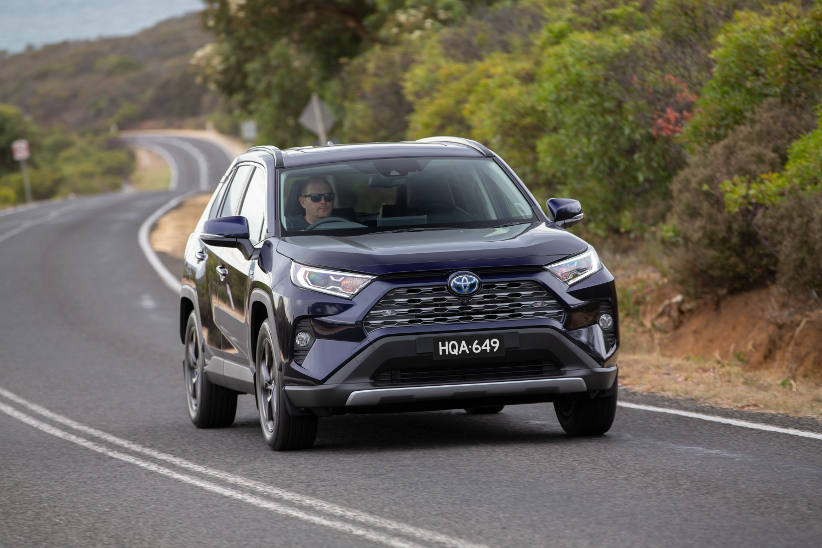 Toyota secures additional supply of RAV4 hybrid for fleet customers