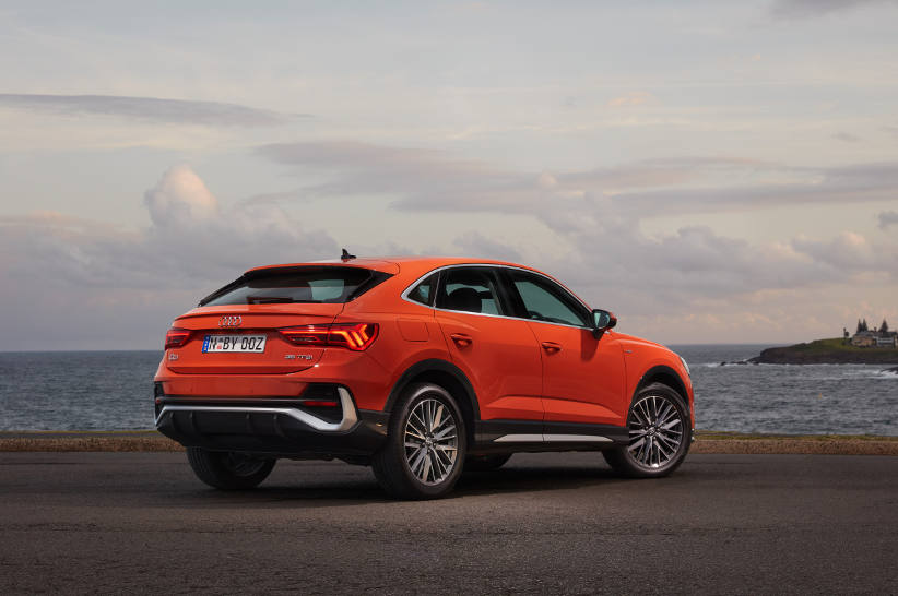 An SUV that looks like a coupe? Audi Q3 Sportback
