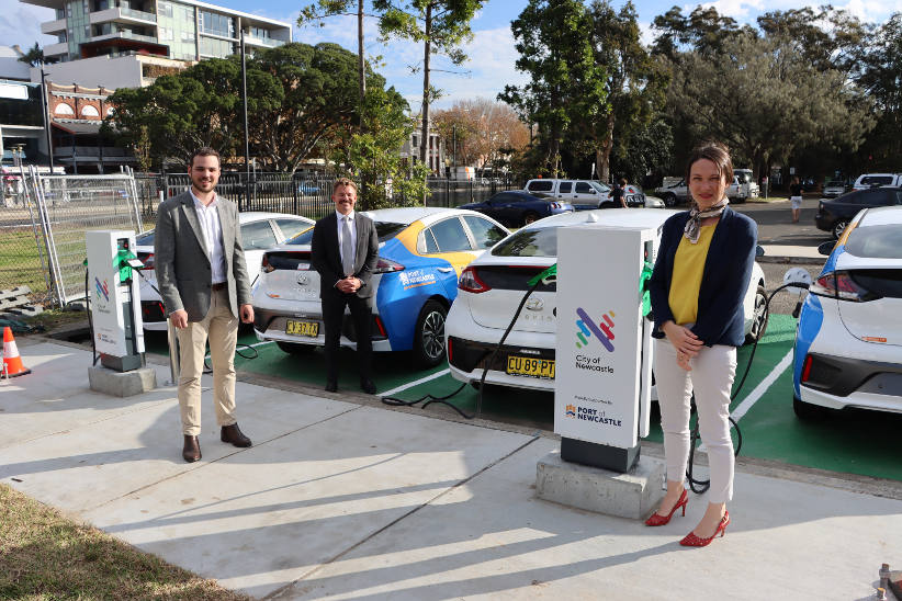 Electric vehicle fleet to support sustainable operations at Port of Newcastle