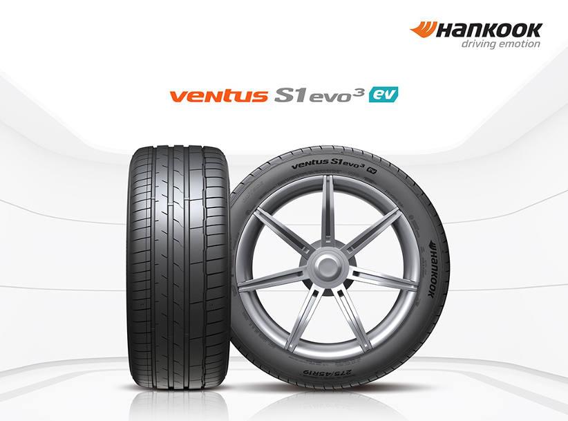 Hankook develops EV tyre for Porsche Taycan