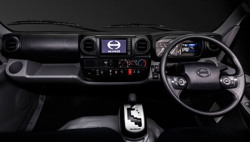 Hino provides drivers with a better workspace