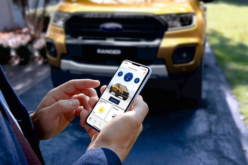 For the Tradie that has everything - remote starting via an app