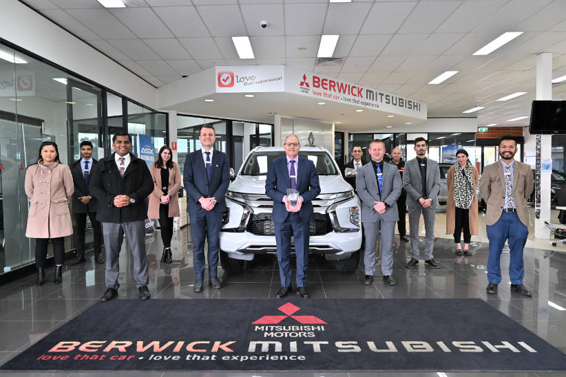 Mitsubishi awards top Australian dealers in virtual ceremony