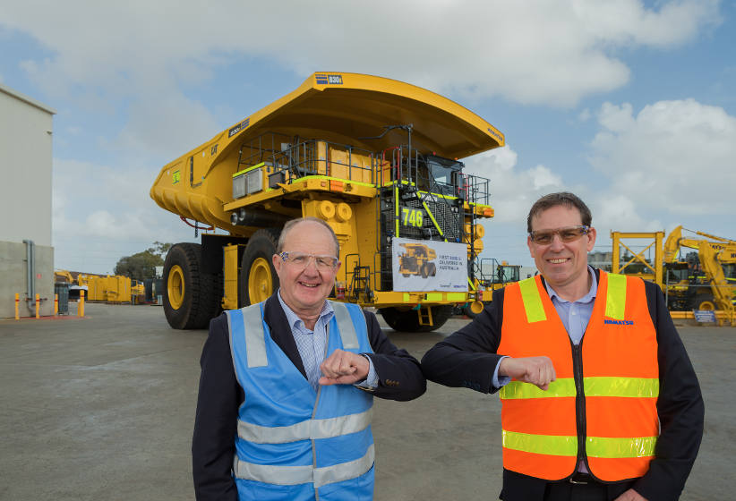 Downer Group picks Komatsu dump trucks for key WA project