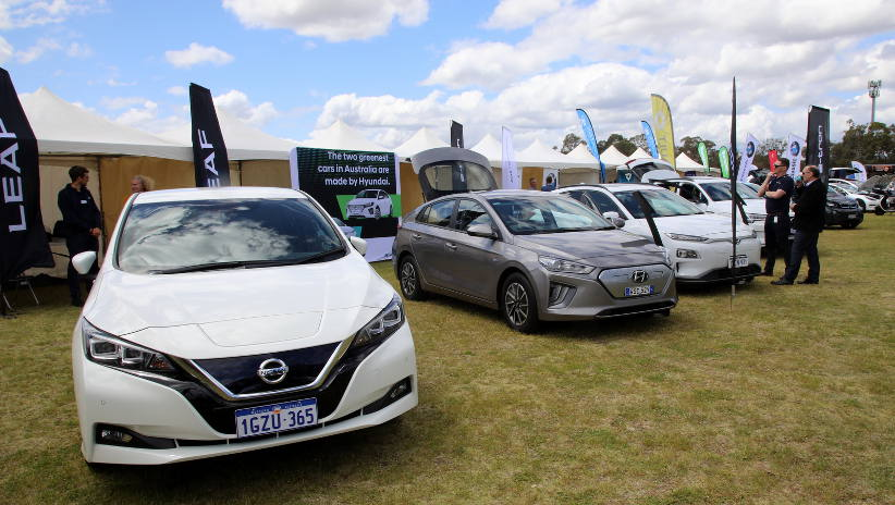 West Australians get a spark from EVs at iDrive WA