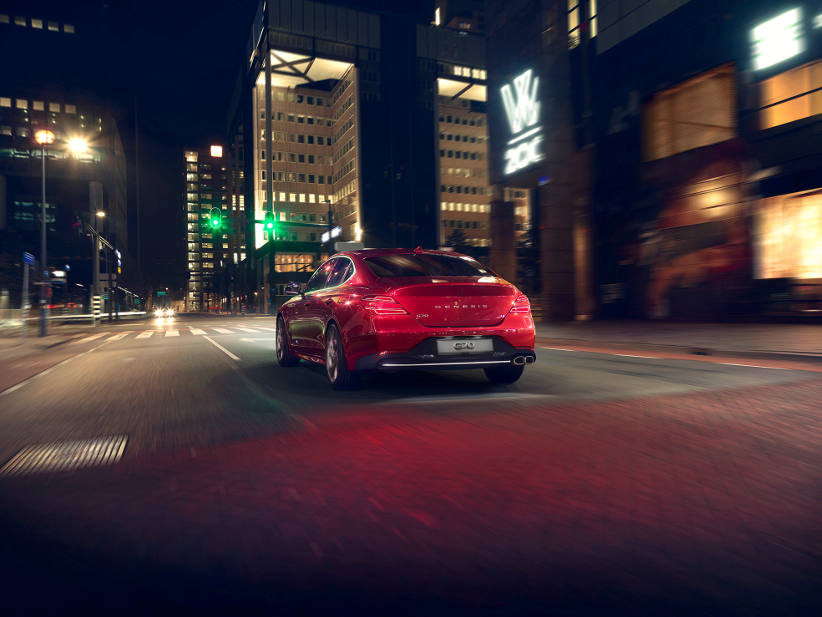 Global launch of the Genesis G70 shows 'Athletic Elegance' design